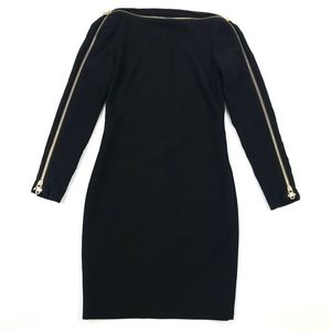 Emilio Pucci Long Sleeve Shift Dress Sz 34